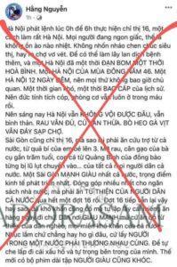 """FB """"Hằng Nguyễn"""" bị xử ra sao?"""